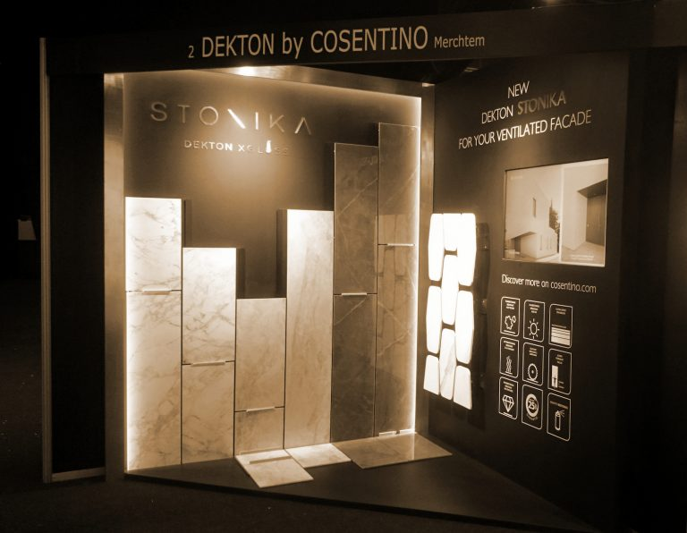 Stand Cosentino Architect@Work Kortrijk Expo