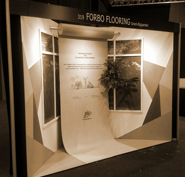 Stand Forbo Architect@Work Kortrijk Expo