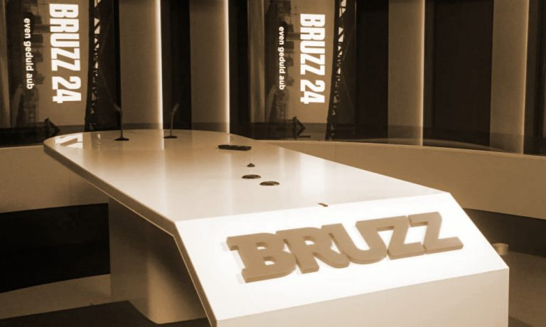 Furnishing TV studio BRUZZ